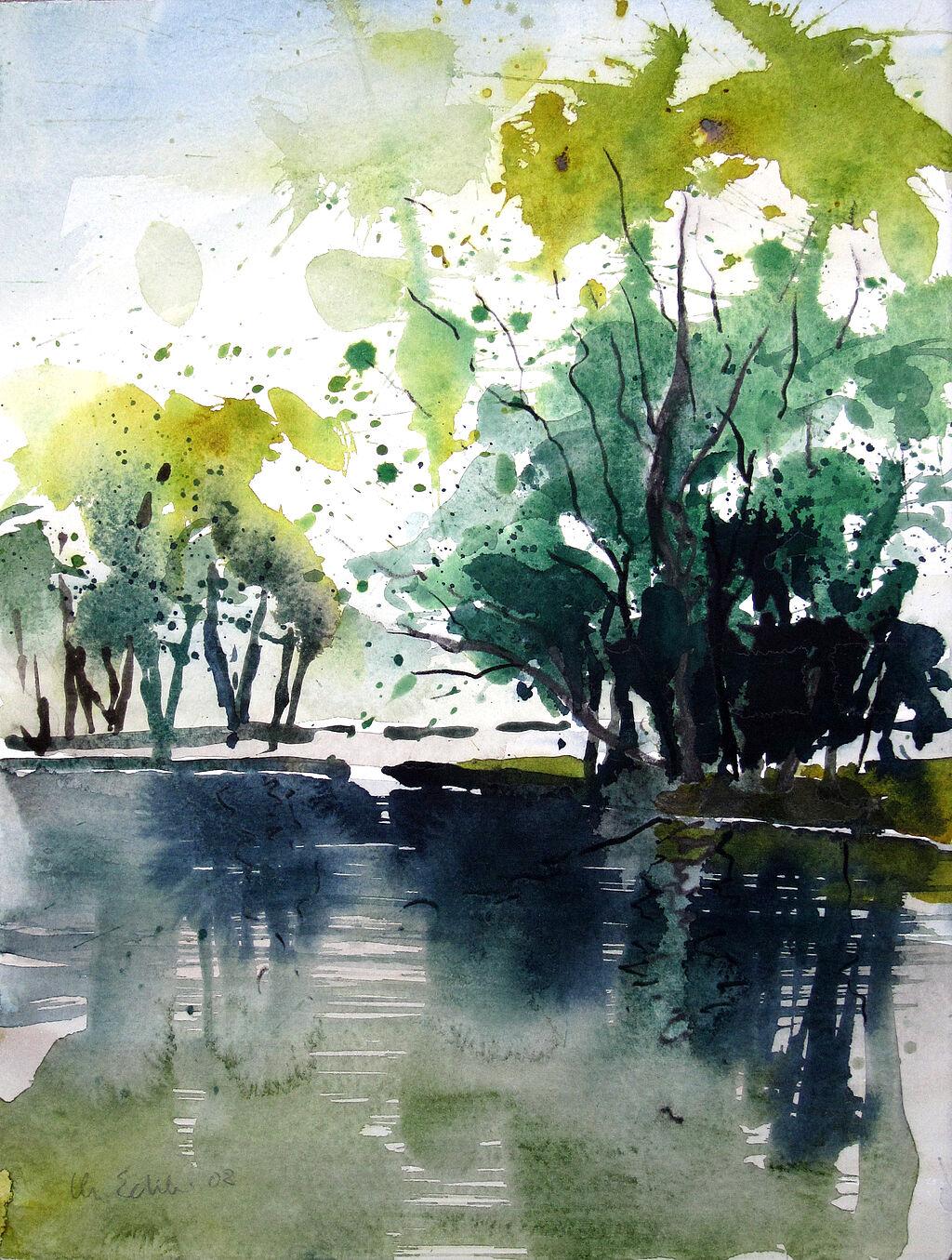 Malenzeichnen Lernen Malen Lernen Aquarellmalerei Landschaft