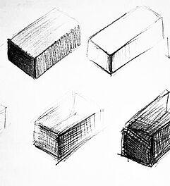 malen zeichnen lernen zeichnen und skizzieren lernen dreidimensionalit t f r anf nger. Black Bedroom Furniture Sets. Home Design Ideas