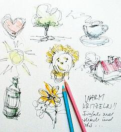 malen zeichnen lernen zeichnen und skizzieren lernen aufw rmen brigitte guhle malkurse. Black Bedroom Furniture Sets. Home Design Ideas